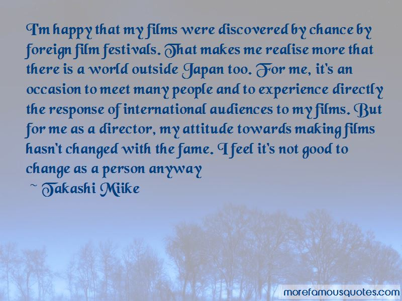 Takashi Miike Quotes Pictures 2
