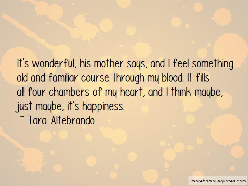 Tara Altebrando Quotes