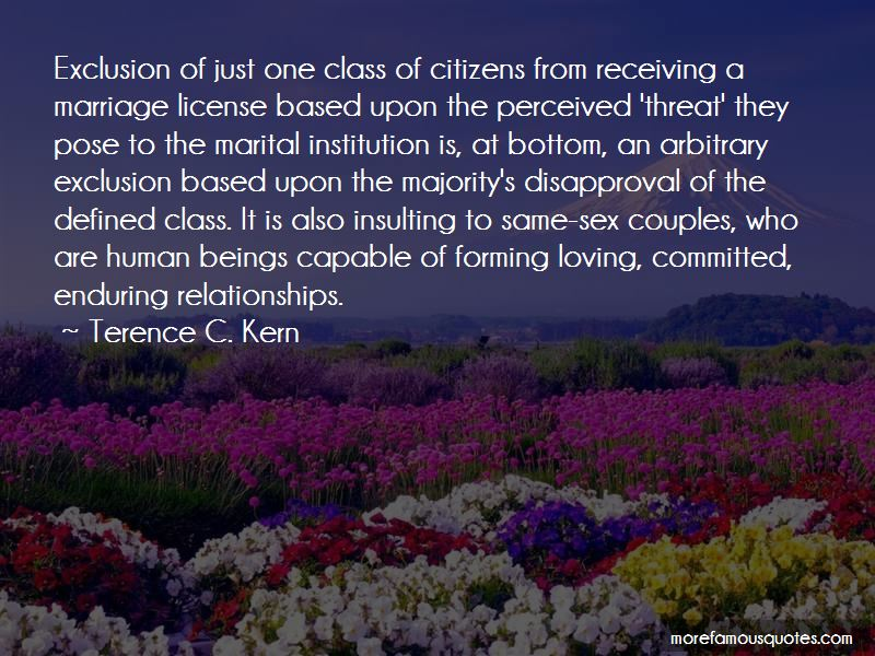 Terence C. Kern Quotes