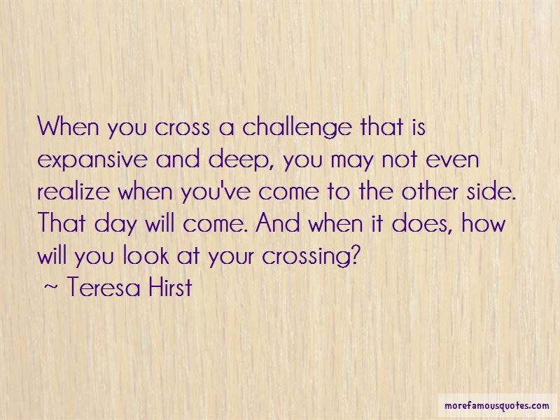 Teresa Hirst Quotes Pictures 2