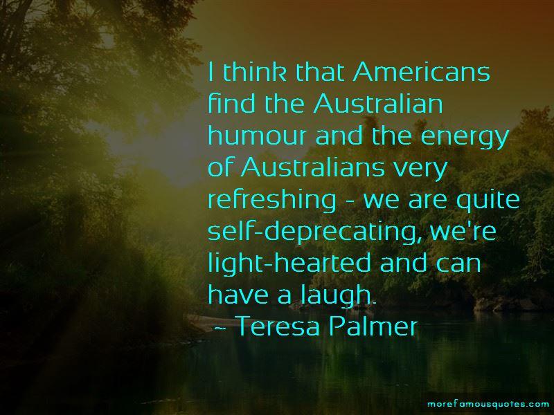 Teresa Palmer Quotes