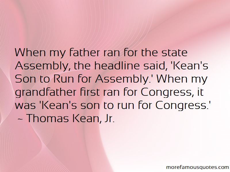 Thomas Kean, Jr. Quotes Pictures 3