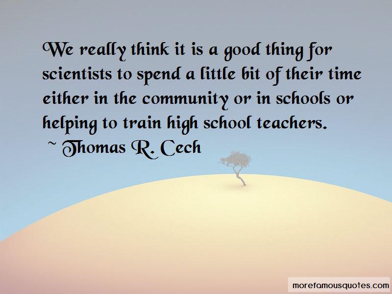Thomas R. Cech Quotes Pictures 4