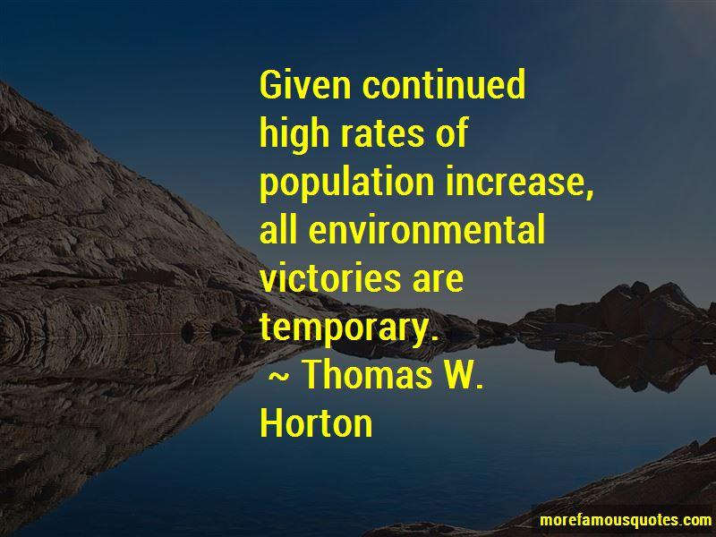 Thomas W. Horton Quotes Pictures 2