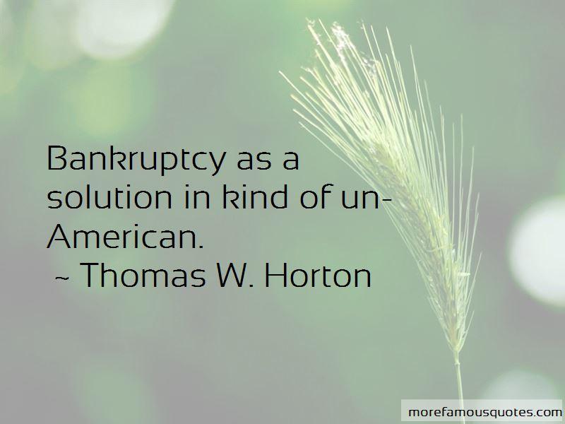 Thomas W. Horton Quotes Pictures 3