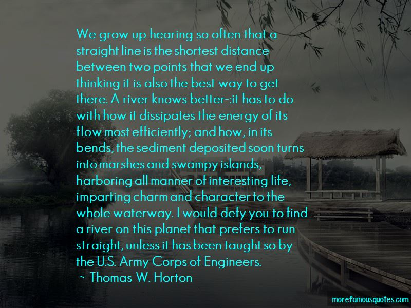 Thomas W. Horton Quotes