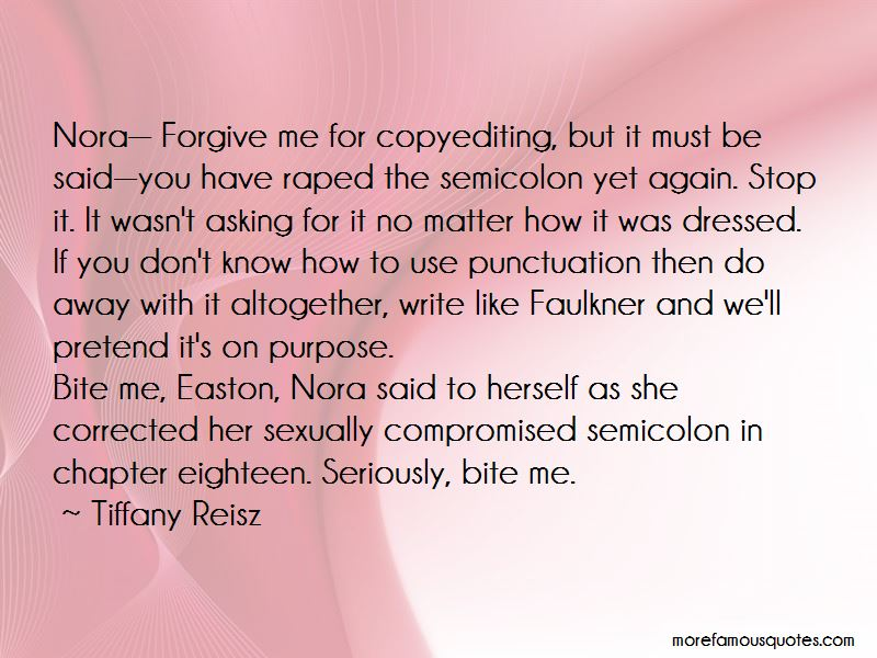 Tiffany Reisz Quotes