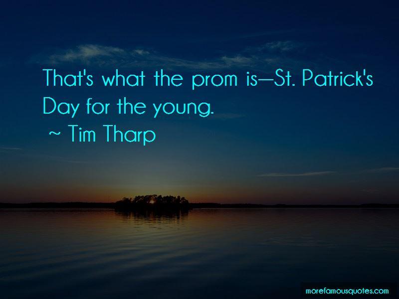 Tim Tharp Quotes Pictures 3