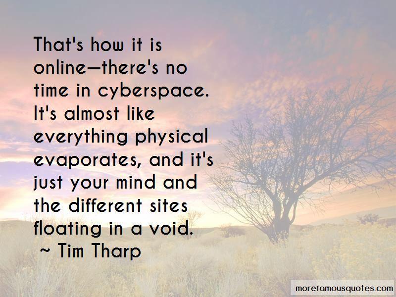 Tim Tharp Quotes Pictures 4
