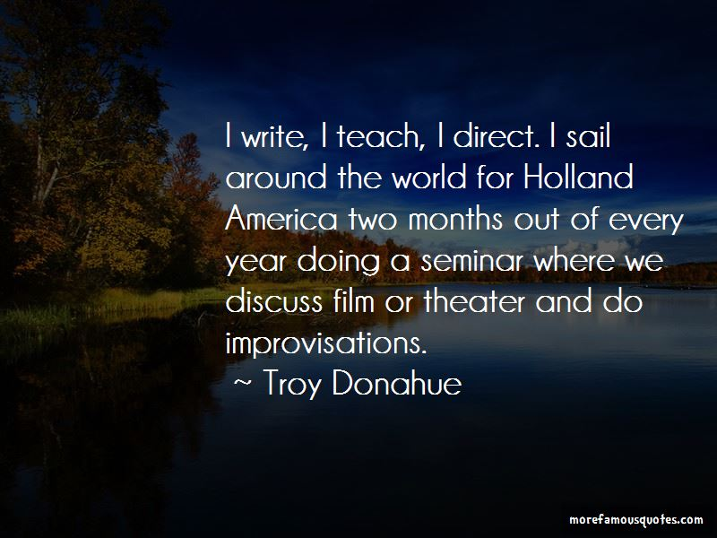 Troy Donahue Quotes Pictures 3