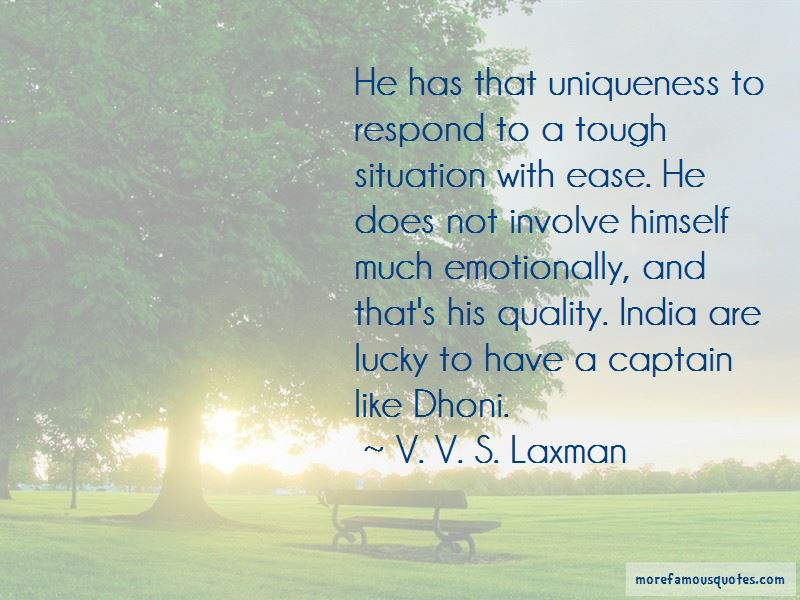 V. V. S. Laxman Quotes