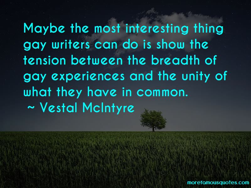 Vestal McIntyre Quotes Pictures 2