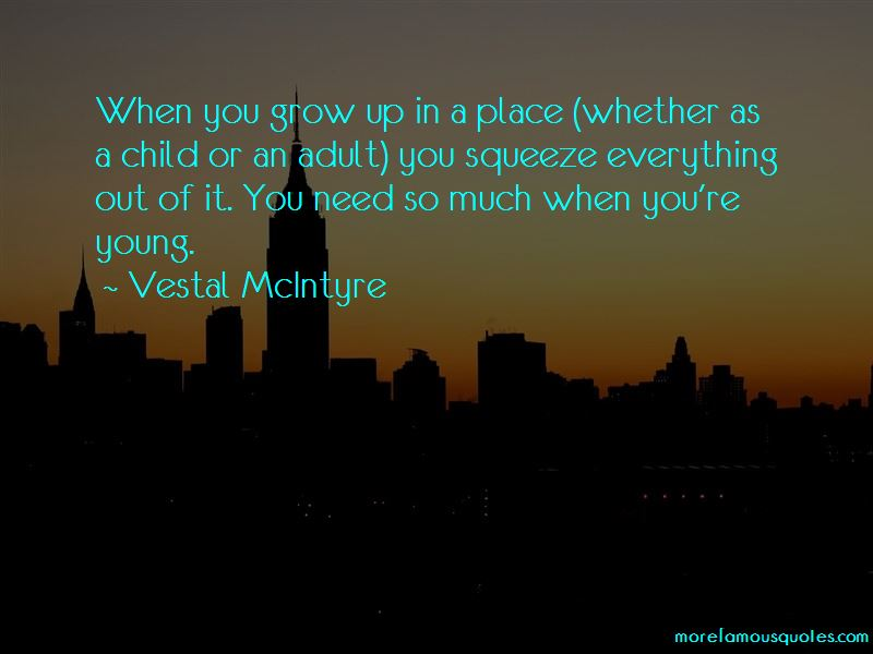 Vestal McIntyre Quotes Pictures 4