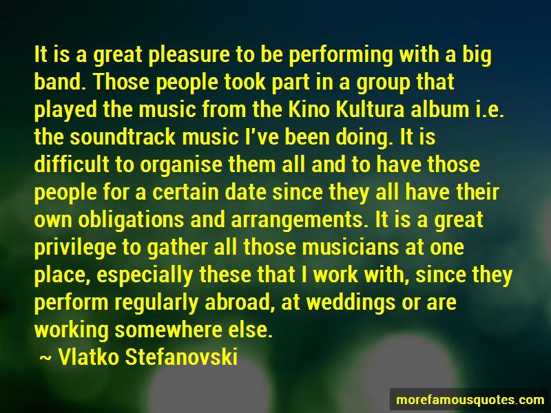 Vlatko Stefanovski Quotes