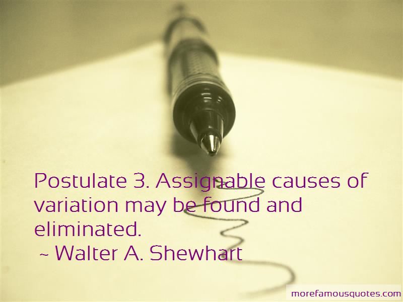 Walter A. Shewhart Quotes Pictures 4