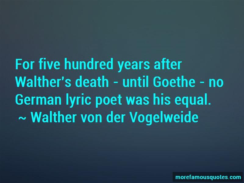Walther Von Der Vogelweide Quotes Pictures 2