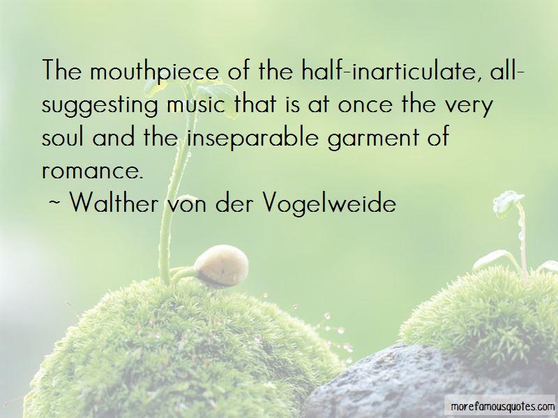 Walther Von Der Vogelweide Quotes