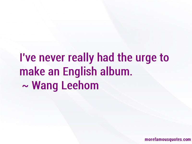 Wang Leehom Quotes Pictures 2