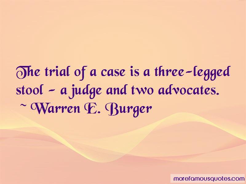 Warren E. Burger Quotes Pictures 3