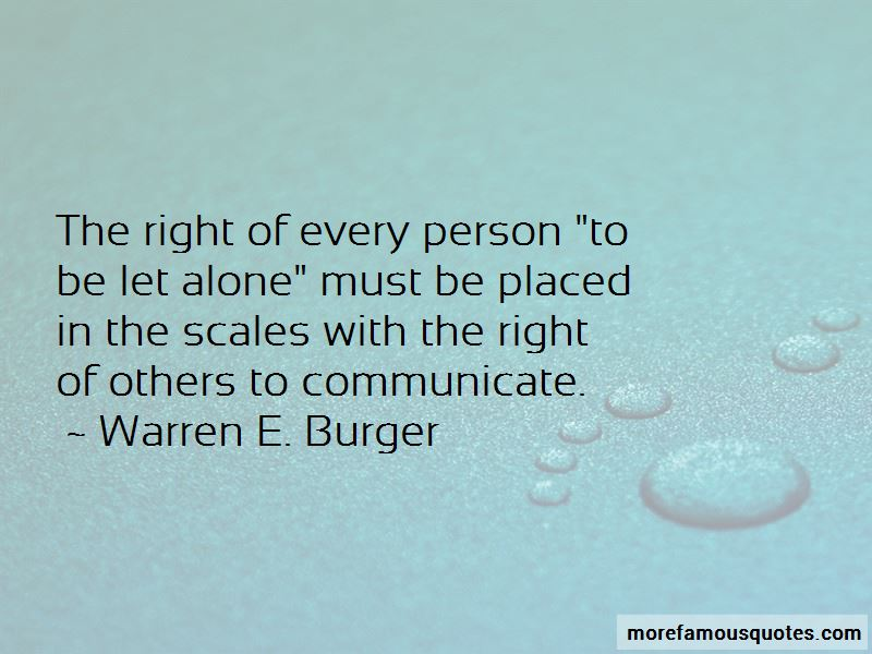 Warren E. Burger Quotes Pictures 4