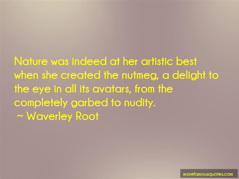 Waverley Root Quotes Pictures 3
