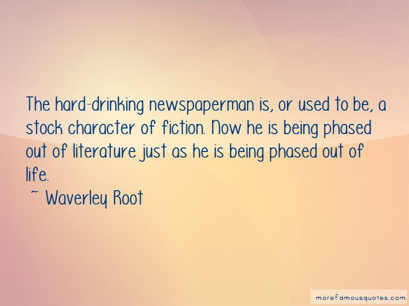 Waverley Root Quotes