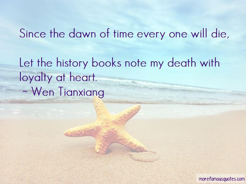 Wen Tianxiang Quotes