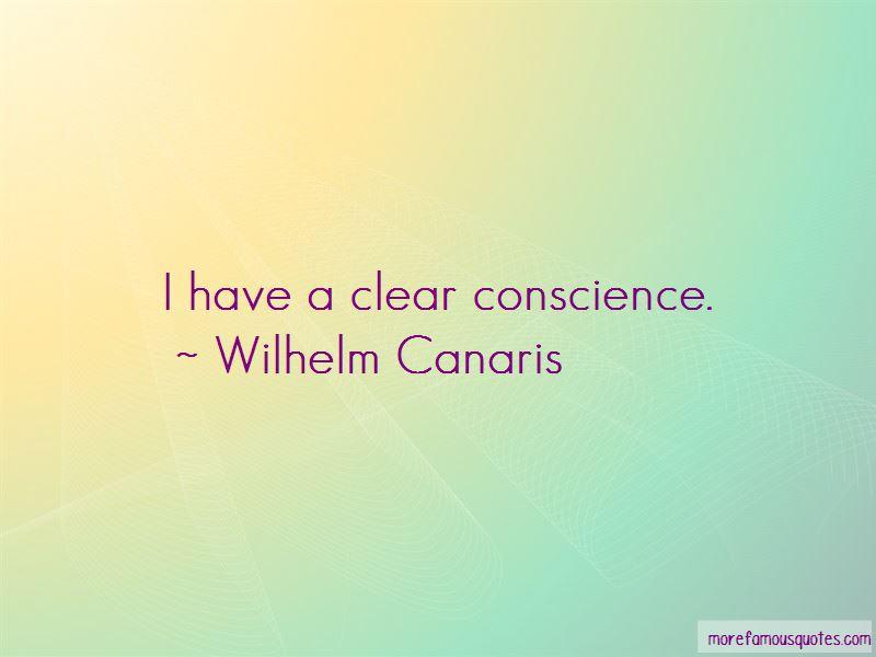 Wilhelm Canaris Quotes