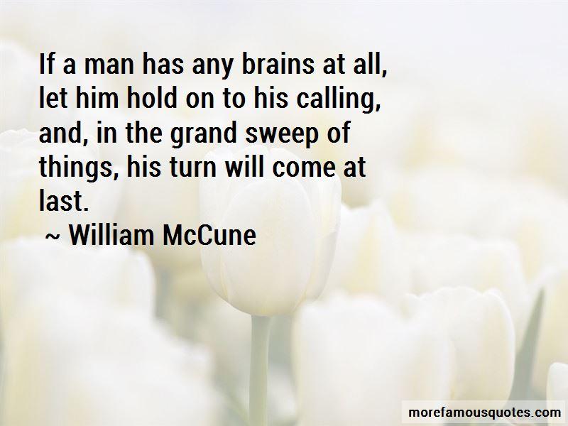 William McCune Quotes
