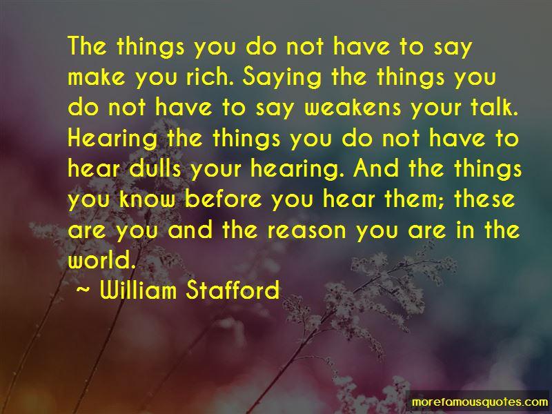 William Stafford Quotes Pictures 3