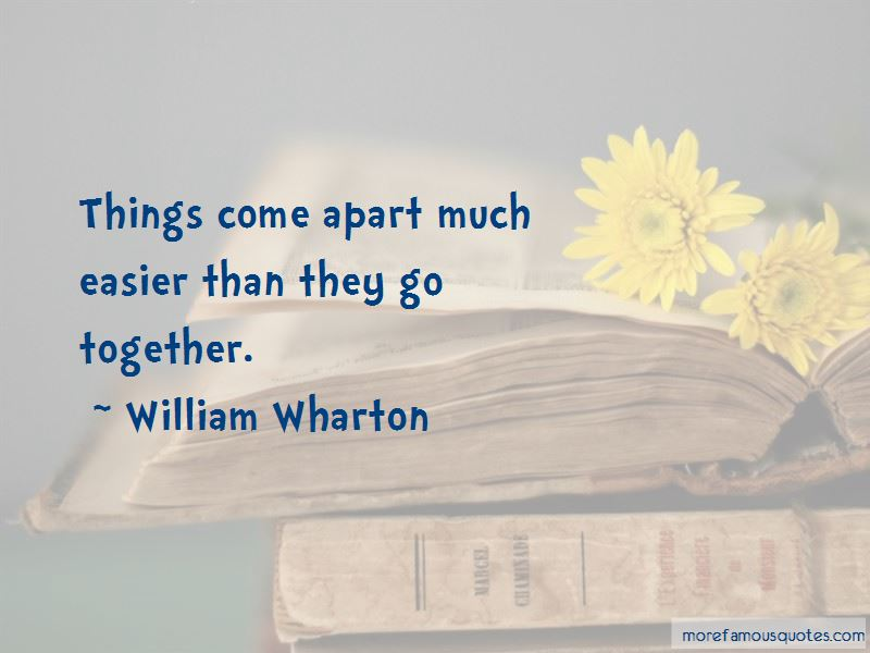 William Wharton Quotes