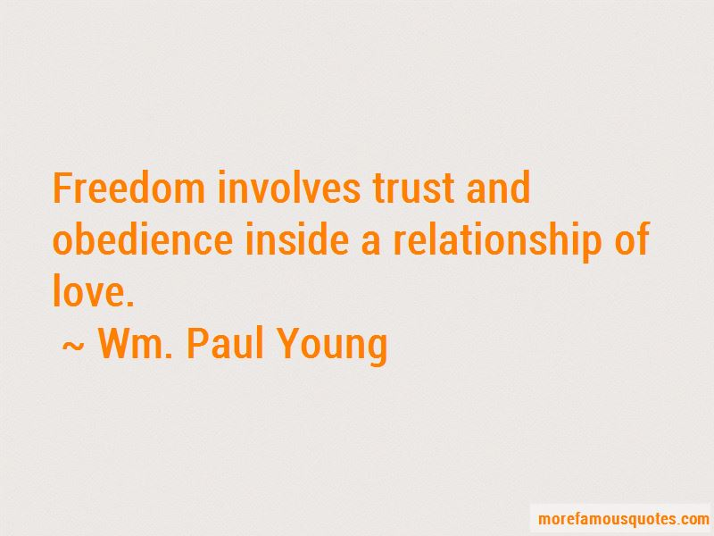 Wm. Paul Young Quotes Pictures 2