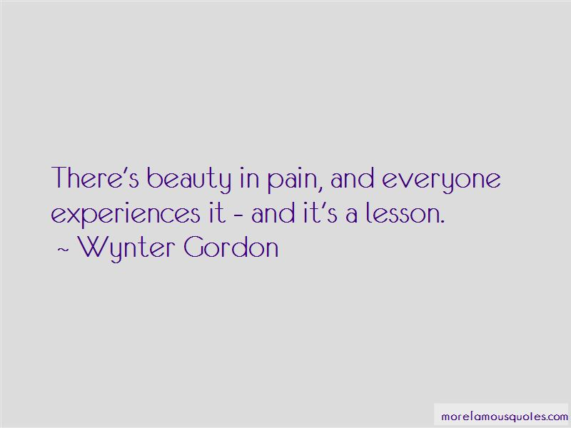 Wynter Gordon Quotes Pictures 2