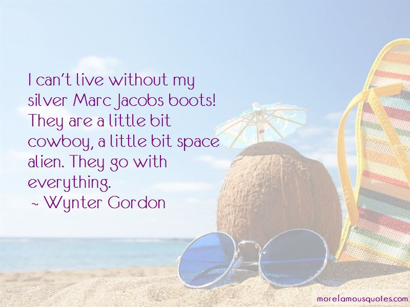 Wynter Gordon Quotes Pictures 4