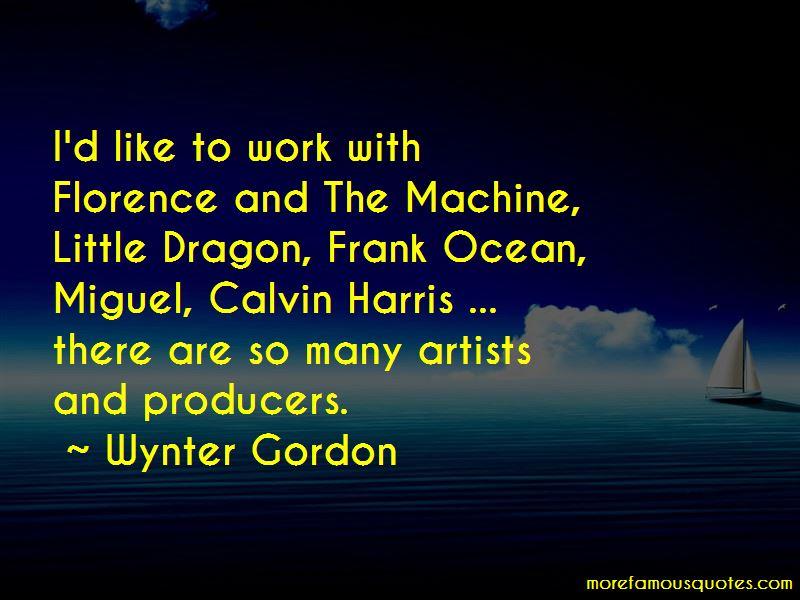 Wynter Gordon Quotes