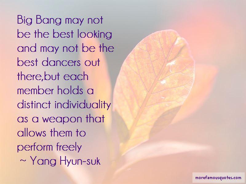 Yang Hyun-suk Quotes