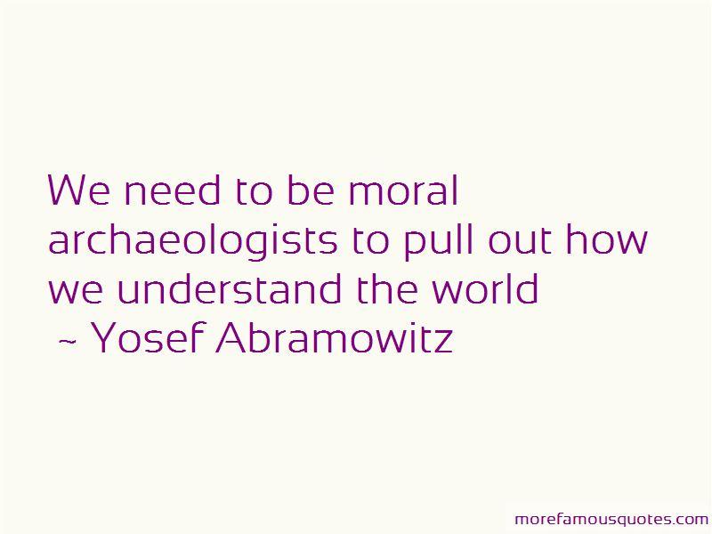 Yosef Abramowitz Quotes Pictures 3