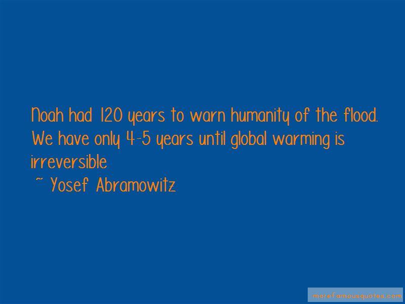 Yosef Abramowitz Quotes