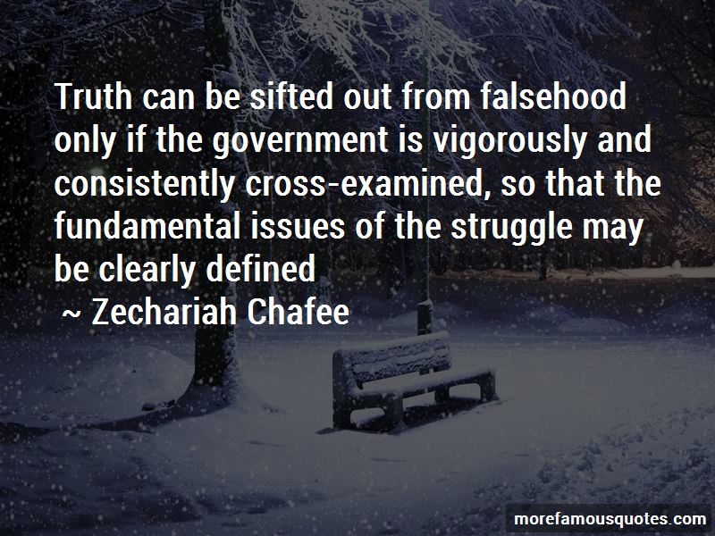 Zechariah Chafee Quotes