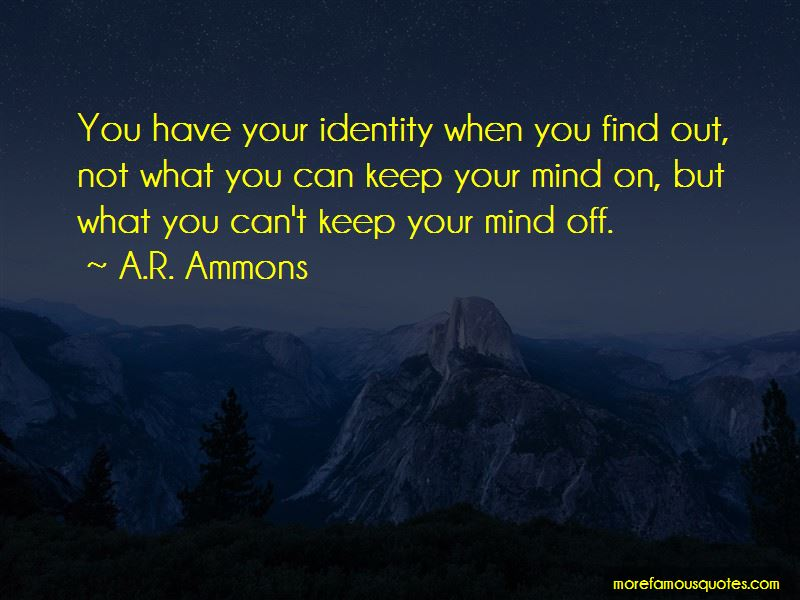 A.R. Ammons Quotes Pictures 3