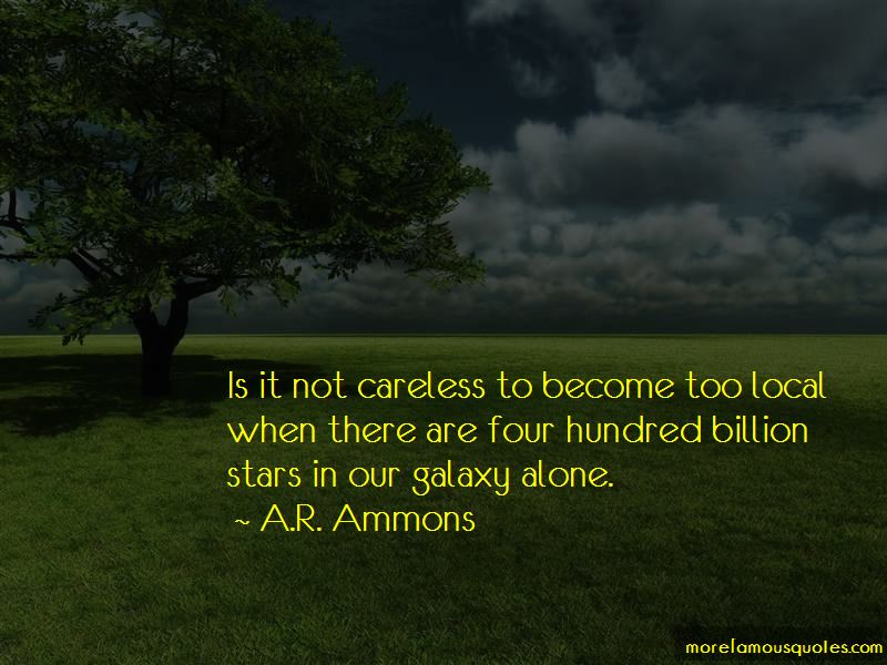 A.R. Ammons Quotes Pictures 4