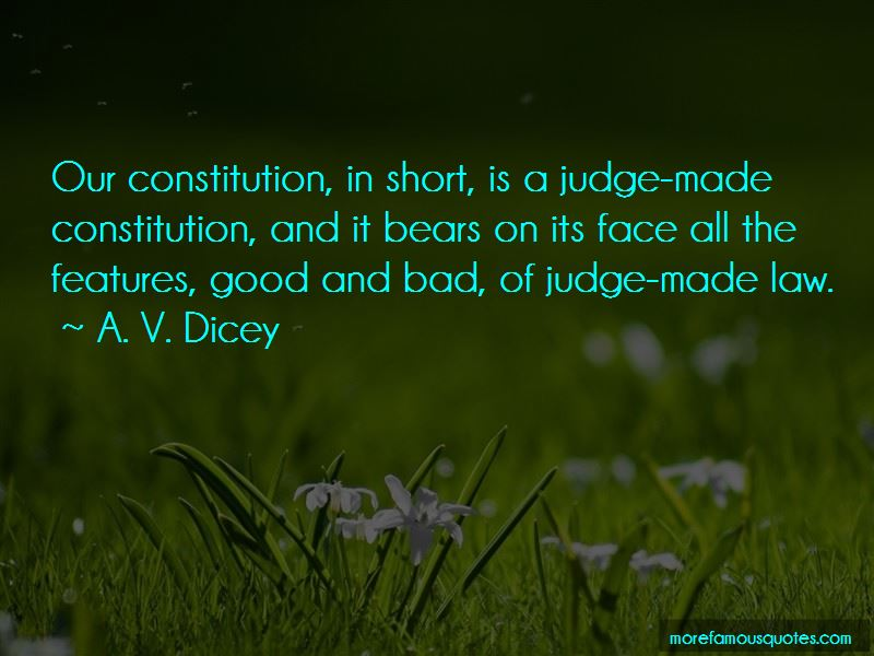 A. V. Dicey Quotes Pictures 3