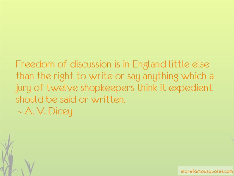 A. V. Dicey Quotes Pictures 4