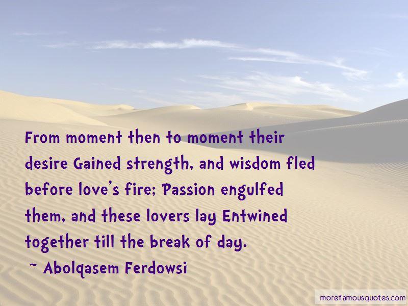 Abolqasem Ferdowsi Quotes