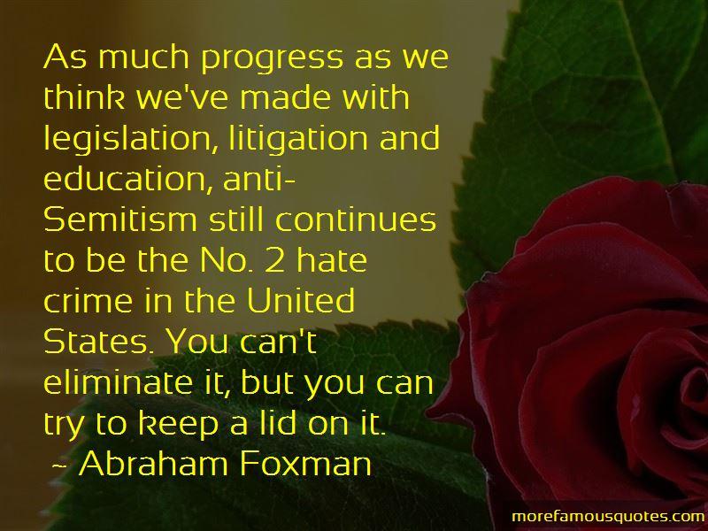 Abraham Foxman Quotes Pictures 4