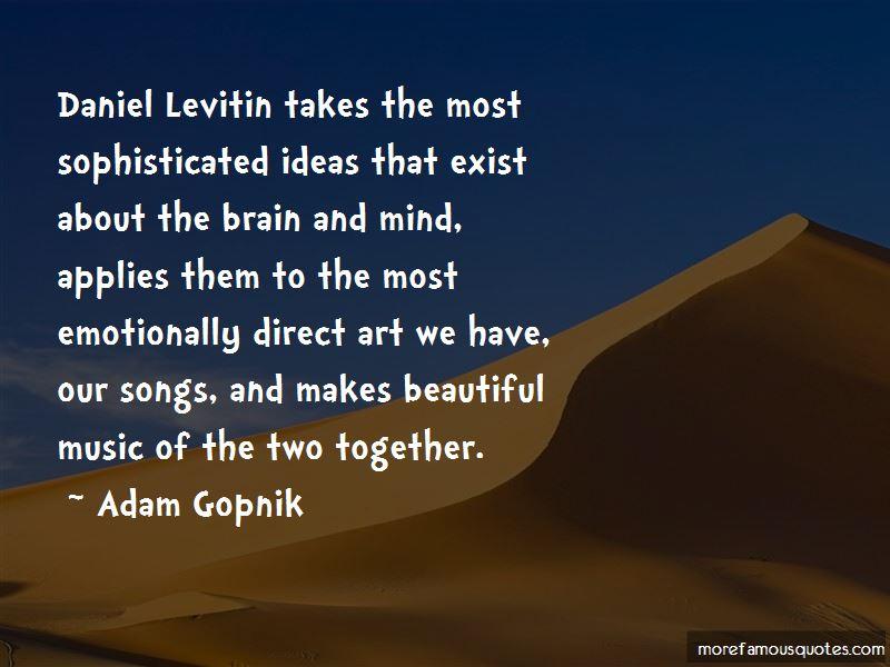 Adam Gopnik Quotes Pictures 4