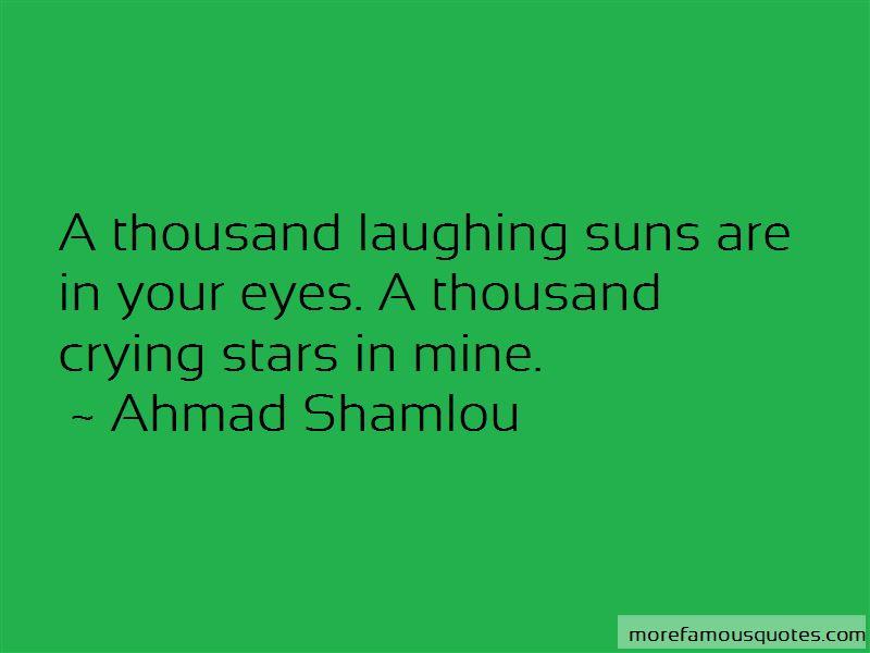 Ahmad Shamlou Quotes