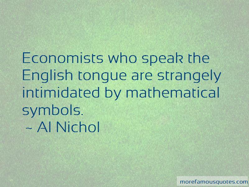 Al Nichol Quotes