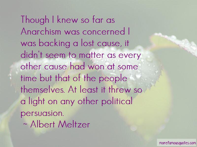 Albert Meltzer Quotes Pictures 2