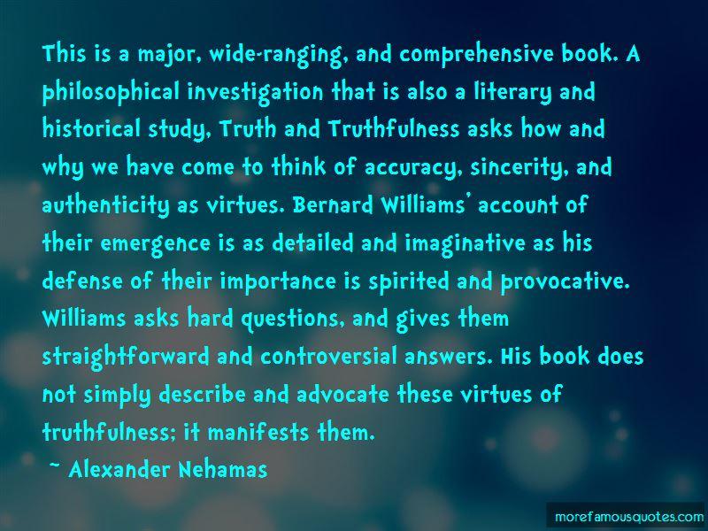 Alexander Nehamas Quotes